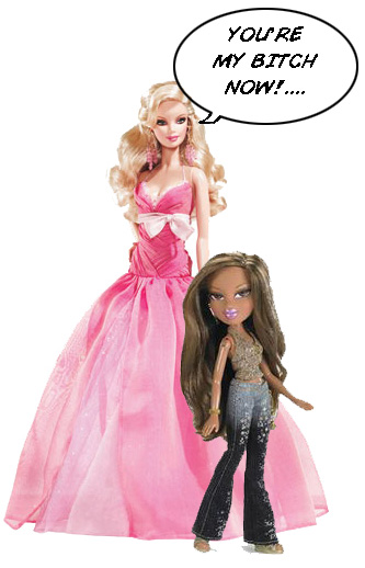 barbie dolls and bratz which Since debuting in 1959 as the world's first fashion doll, barbie has long been a lightning rod for controversy and pouty-lipped bratz dolls became wildly.