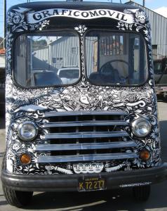 A special van.