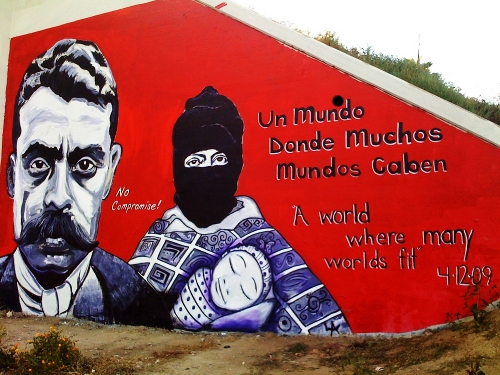 Gone but not forgotten la eastside for Mural zapatista