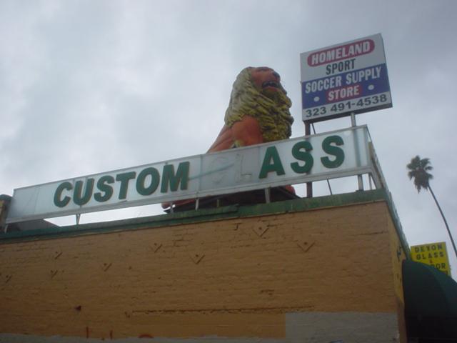 custom ass
