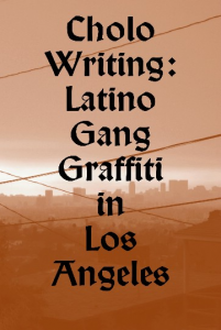 "Cover of ""Cholo Writing"""
