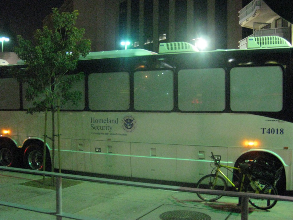 big ICE bus