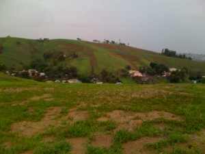 The Rolling Hills Above Happy Valley