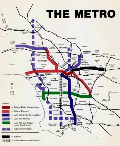 los angeles rail map pdf